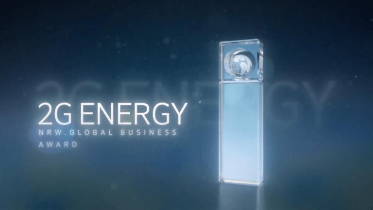 2G Energy - призёр премии Global Business Award