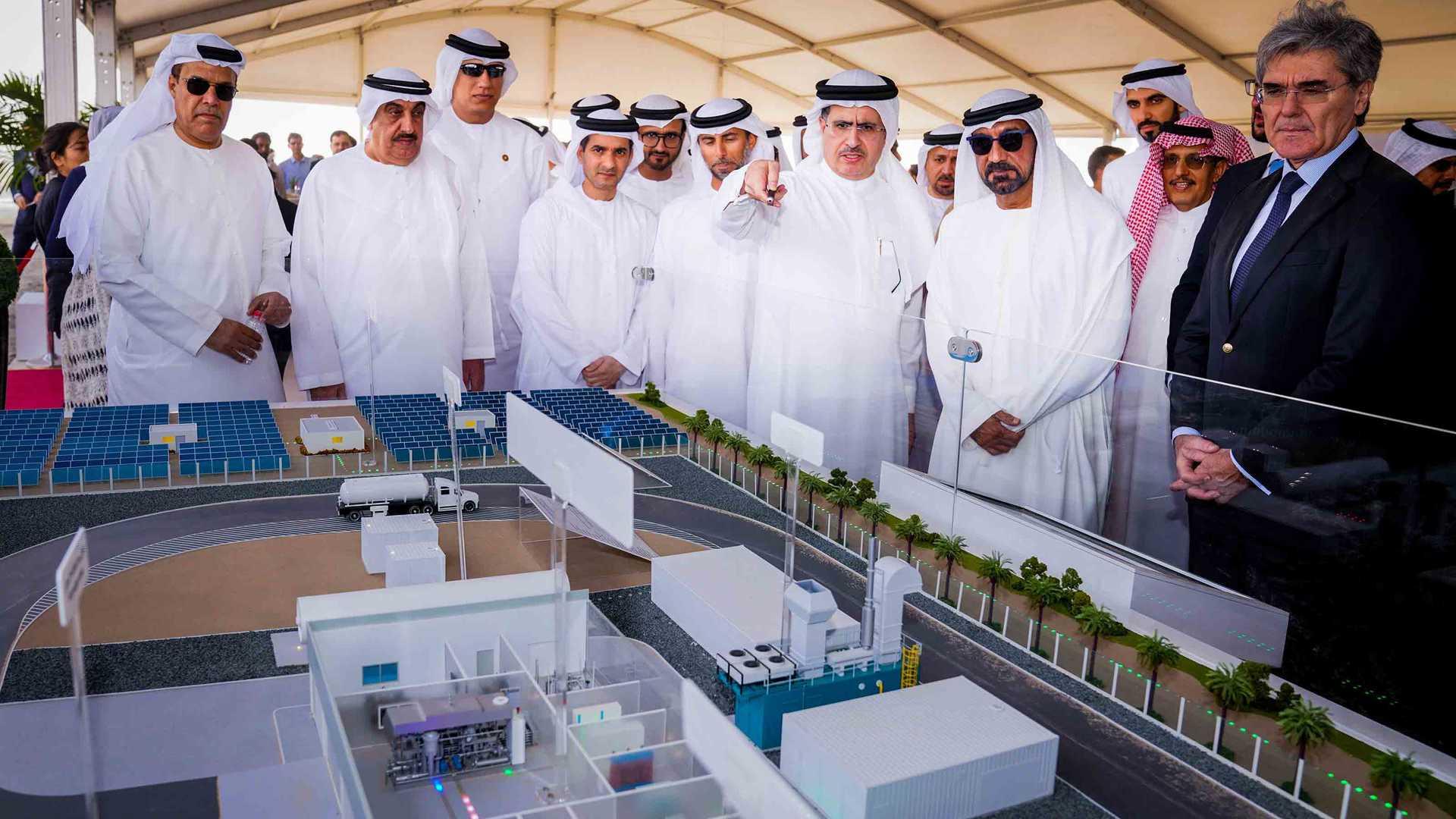 Проект Siemens в Дубае